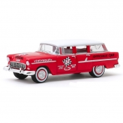 Miniatura Chevrolet Two Ten 1955 Townsman 1/64 Greenlight