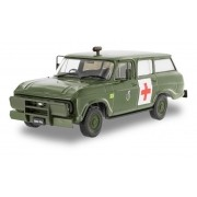 Miniatura Chevrolet Veraneio Ambulância 1/43 Chevrolet Collection Salvat