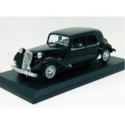 Miniatura Citroen 15CV 1952 Preto 1/18 Maisto