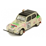 Miniatura Citroen Dyane #167 Rally 1979 1/43 Ixo