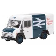 Miniatura Commer Van Rail Express Parcels 1/76 Oxford