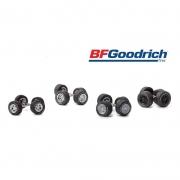 Miniatura Conjunto Rodas e Pneus BF Goodrich 1/64 Greenlight