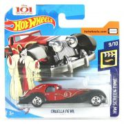 Miniatura Cruela De Vil HW Screen Time 1/64 Hot Wheels