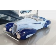 Miniatura Delahaye Type 135-M Cabriolet Mullin Museum 1/43 Minichamps