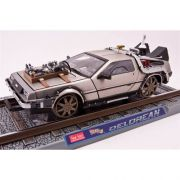 Miniatura Delorean Railroad Version De Volta Para o Futuro 3 1/18 Sun Star