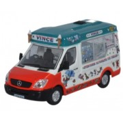 Miniatura Dimascios Whitby Mondial Ice Cream Van Vinces 1/76 Oxford