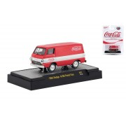 Miniatura Dodge A100 Panel Van 1964 Coca Cola 1/64 M2