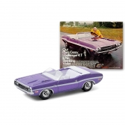 Miniatura Dodge Challenger R/T Convertible 1970 1/64 Greenlight