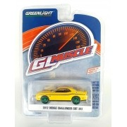 Miniatura Dodge Challenger SRT 2012 Greenmachine 1/64 Greenlight