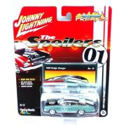 Miniatura Dodge Charger 1966 The Spoilers 01 C 1/64 Johnny Lightning