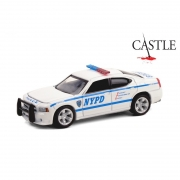 Miniatura Dodge Charger 2006 Policia Castle 1/64 Greenlight