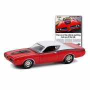Miniatura Dodge Charger Super Bee 1971 1/64 Greenlight