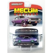 Miniatura Dodge Hemi Challenger 1971 Mecum Auctions Greenmachine 1/64 Greenlight