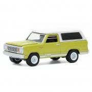 Miniatura Dodge Macho Ramcharger 1977 4x4 1/64 Greenlight