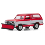 Miniatura Dodge Ramcharger 1977 with Snow Plow 1/64 Greenlight