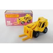 Miniatura Empilhadeira Sambron Jacklift N°48 Superfast 1/64 Matchbox