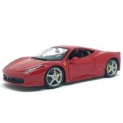 Miniatura Ferrari 458 Italia 1/24 Bburago