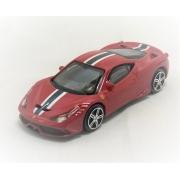 Miniatura Ferrari Italia 458 Speciale Race & Play 1/43 Bburago