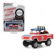 Miniatura Ford Baja Bronco 1966 BFGoodrich Running On Empty 1/64 Greenlight