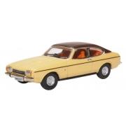 Miniatura Ford Capri MK2 Beige 1/76 Oxford