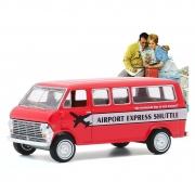 Miniatura Ford Club Wagon 1968 Norman Rockwell 1/64 Greenlight