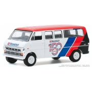 Miniatura Ford Club Wagon 1971 BF Goodrich 150th Anniversary 1/64 Greenlight