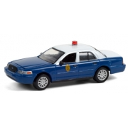 Miniatura Ford Crown 2011 Police Anniversary Collection 1/64 Greenlight