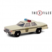 Miniatura Ford Crown Victoria 1983 Policia The X-Files 1/64 Greenlight