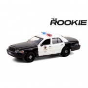 Miniatura Ford Crown Victoria 2008 Policia The Rookie 1/64 Greenlight