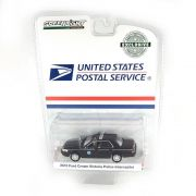 Miniatura Ford Crown Victoria Policia Interceptor 2010 USPS US Postal Service 1/64 Greenlight Greenmachine