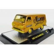 Miniatura Ford Econoline Van 1965 Mooneyes 1/64 M2 CHASE