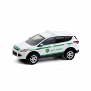 Miniatura Ford Escape 2013 Polícia Hot Pursuit 1/64 Greenlight