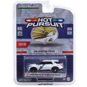 Miniatura Ford Explorer 2020 Polícia Hot Pursuit 1/64 Greenlight