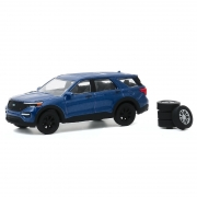 Miniatura Ford Explorer ST 2020 com Pneus 1/64 Greenlight