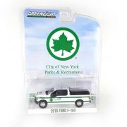 Miniatura Ford F150 2016 NYC Parks Blue Collar Serie 4 1/64 Greenlight