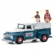 Miniatura Ford F-100 1956 Norman Rockwell 1/64 Greenlight