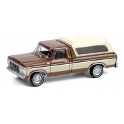 Miniatura Ford F-150 1979 with Camper Shell 1/64 Greenlight
