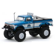 Miniatura Ford F-250 1975 Monster Truck 1/64 Greenlight
