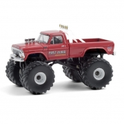 Miniatura Ford F-250 1978 Big Foot Monster Truck 1/64 Greenlight