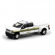 Miniatura Ford F-350 2018 Sheriff Policia 1/64 Greenlight