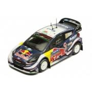 Miniatura Ford Fiesta WRC #2 Rally 2018 1/43 Ixo