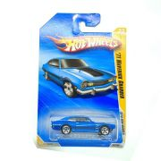 Miniatura Ford Maverick Grabber 1971 Azul 1/64 Hot Wheels