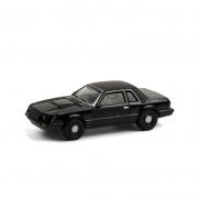 Miniatura Ford Mustang 1982 SSP Black Bandit 1/64 Greenlight