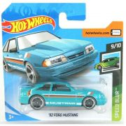 Miniatura Ford Mustang 1992 Speed Blur 1/64 Hot Wheels