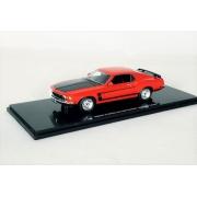 Miniatura Ford Mustang Boss 302 1969 1/43 Highway 61
