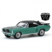 Miniatura Ford Mustang Coupe 1967 Ski Country Special 1/64 Greenlight