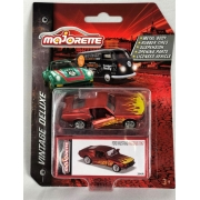Miniatura Ford Mustang Fastback 1967 Vintage Deluxe 1/64 Majorette