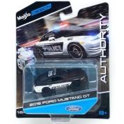 Miniatura Ford Mustang GT 2015 Polícia 1/64 Maisto