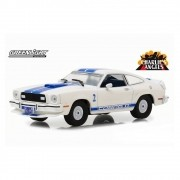 Miniatura Ford Mustang II Cobra 1976 Charlie's Angels 1/43 Greenlight