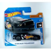 Miniatura Ford Mustang Shelby GT500 Super Snake 2010 1/64 Hot Wheels